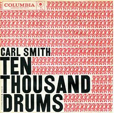 CARL SMITH 'Ten Thousand Drums' 45 RPM PICTURE SLEEVE (COUNTRY)