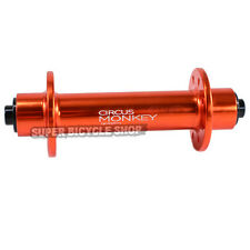 Circus Monkey HRW Road Front Hub,24 Hole, Orange