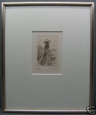 Original Radierung - numeriert + signiert Lemoine 23/125 (32)