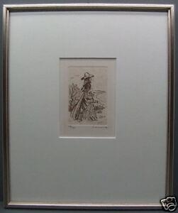 Original Etching - Numbered + Signed Lemoine 23/125 (32)