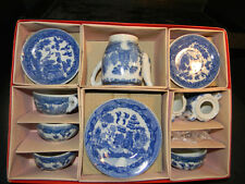 Vintage Child Set for 4 Porcelain Tea Set Made in Japan in Original Box (1139)
