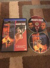 Starman / Jagged Edge (DVD,1984-85)2-Disc Set) Jeff Bridges Free Shipping!!!!