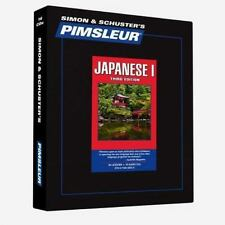 Pimsleur Learn/Speak JAPANESE Language Level 1 CDs NEW!