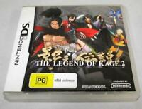 The Legend of Kage 2 Nintendo DS 2DS 3DS Game *Complete *