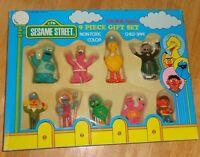 Sesame Street Collectible PVC Figure Gift Set Tara Toy 1987 Muppets CTW Vintage