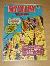 MYSTERY TALES #18 VG (4.0) SUPER COMICS KUBERT 1964