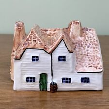 Vintage 1978 Porcelain Heritage Houses Weatherboard Farmhouse Made In England
