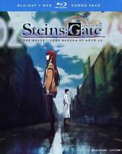 Steins;Gate The Movie - Load Region of Deja Vu (Blu-ray Disc, 2017, 2-Disc Set)
