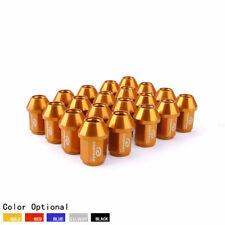20PCS Aluminum Wheel LUG NUTS M12x1.5 35mm Universal Nuts Gold 7075-T6