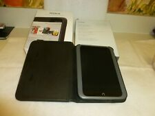Barnes & Noble Nook HD tablet, 8gb protective cover, screen protector bundle P1