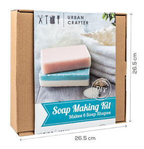 Soap Making Kit Urban Crafter DIY Makes 6 Soaps