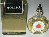 Vintage Guerlain Shalimar Cologne Perfume Bottle/Box 3.4 OZ Sealed  - 3/4 Full