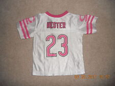 Chicago Bears Football Jersey Baby Infant Toddler #23 Devin Hester 2T Pink Team