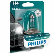 PHILIPS X-tremeVision H4 12V Bombilla del faro Single 12342XV+B1