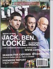 Lost The Official Magazine #21 Jack, Ben & Locke Cover Matthew Fox Evangeline L