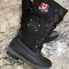 Pajar Canada Women's Paige Black Winter Snow Waterproof Boots Size 9 NEW