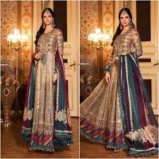 Pakistani Crimson DESIGNER Suit Wedding Dress Eid Collection Shalwar Kameez 2020
