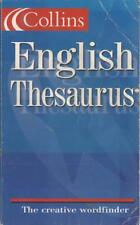 Collins English Thesaurus - HarperCollins - Good - Paperback
