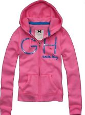 NWT Gilly Hicks By Abercrombie Hollister Pink  Hoodie  Small