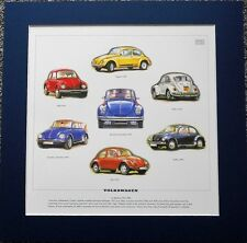 VW Beetle 67-80 Stunning Artwork Print