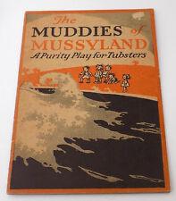1923 Kid's Play Muddies of Mussyland Ivory Soap Advertisement