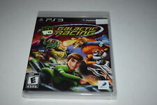 Ben 10 Galactic Racing Playstation 3 PS3 Video Game New Sealed