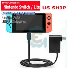 For Nintendo Switch / Lite Charger Chargering Cord AC Adapter Power Supply 2.4A