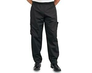 Black Cargo Style Chef Pant, M  Assorted Sizes