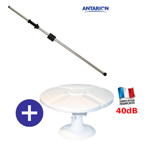 ANTENNE OMNIDIRECTIONNELLE TONNA POUR CAMPING CAR + MAT ANTARION 160cm