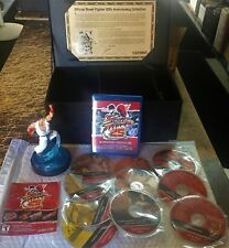 Authentic Official Street Fighter 25th Anniversary Collection Box Set 13 Disc