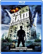 NEW BLU RAY - THE RAID REDEMPTION -  IKO Uwais, Joe Taslim, Doni Alamsyah, Yayan