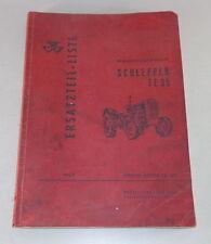 Teilekatalog / Parts catalog Massey Ferguson Schlepper FE 35 Stand 1960