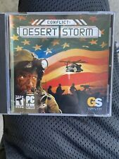 Conflict: Desert Storm (PC, 2002) Complete Windows Global Star Computer Game
