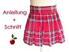 Schnitt + Nähanleitung Faltenrock für Mädchen Gr. 86-140 als Ebook