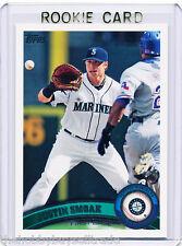 ONLY RC~JUSTIN SMOAK 2011 Topps ROOKIE CARD~'11~TORONTO BLUE JAYS~TOR~MLB~SMOKE
