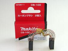 Spazzole Carbone Makita cb-100 - 181030-1 originale per 9005b 9207spb 9207spc 9217spc