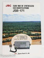Japan Radio Company JRC Three Assorted Equipment Brochures