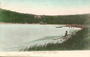 The Kowie River, Port Alfred, South Africa.