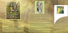 2018. Russia. Fauna of Russia. Woodpeckers. Booklet