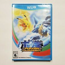 Pokken Tournament Nintendo Wii U Factory Sealed