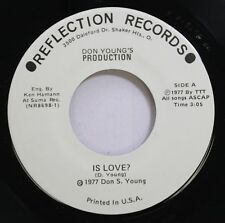 Hear! Power Pop Unknown 45 Don Young - Is Love? / Behind The Scenes On Reflectio