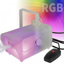QTX Sound cambia colore luce 2 400w FUMO FOG MACHINE Glow FOGGER MIST COLORE