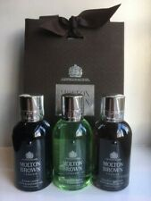 Molton Brown Men's Shower Gel Gift Set (3 x 100ml Bottles) - Russian Leather
