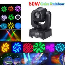 60W RGBW LED Gobo Moving Head Spot Stage Lighting DMX Disco Club DJ Party Light