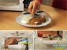 Magnetic Splatter Lid Hover Anti-Sputtering Cover for Keep Microwave Clean