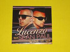 "CD SINGLE LUCENZO FEAT SEAN PAUL ""WINE IT UP"""