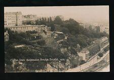 Gloucestershire BRISTOL Clifton from Bridge c1920/30s? RP PPC Viner #653