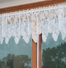 Heritage Lace WOODLAND Valance 60x16 Ecru Made in USA