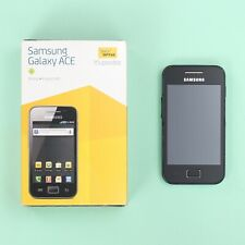 Samsung GT-S5830 Galaxy Ace 3G Smartphone in Black (Locked to Optus) *WORKING*