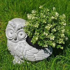 Owl Garden FIORIERA VASO IN CEMENTO EFFETTO BRILLANTE accessorio per esterni 80284